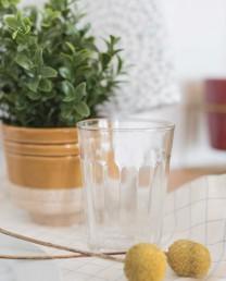 Vaso cristal clásico