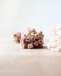 Ramo de rosas mini artificiales
