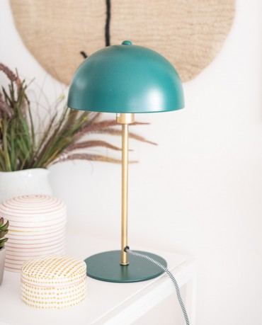 Lámpara mesa seta petróleo
