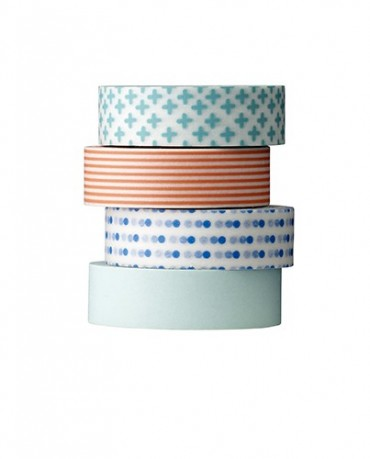 Washi tape estampados alegres