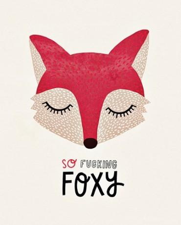 Lámina Foxy 21x29