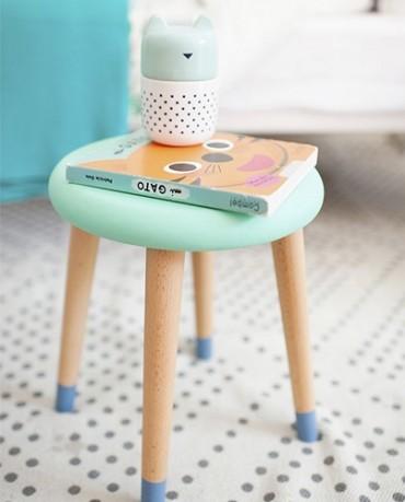 Taburete Baño Infantil:Taburete infantil mint – Deco & Living