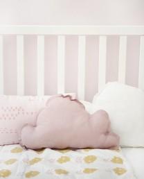 Cojín nube rosa vintage