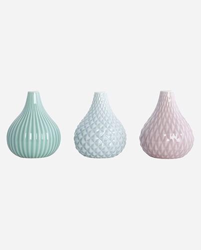 Jarrones cer mica de colores deco living - Colores de ceramica ...