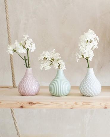 Jarrones cer mica de colores deco living - Jarrones de ceramica ...