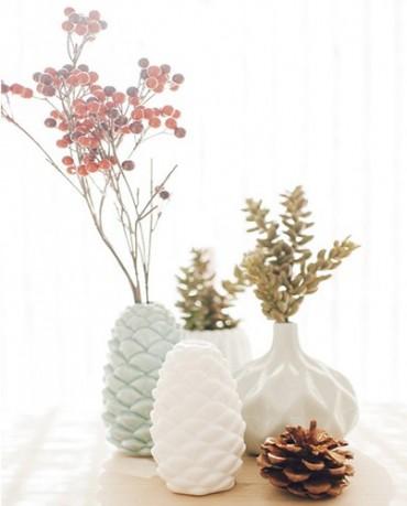 Rama suculenta artificial 16cm deco living - Jarrones flores artificiales ...