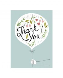 Tarjeta Thank you!