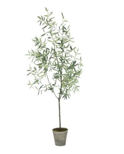 Rbol olivo artificial 170cm deco living for Arbol artificial decoracion