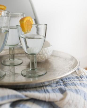 Juego copas de cristal (4 ud.)