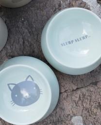 Set cuencos comida gatos