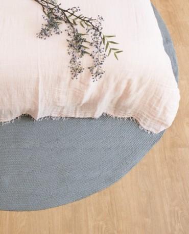 alfombra redonda gris deco living ForAlfombra Redonda Gris