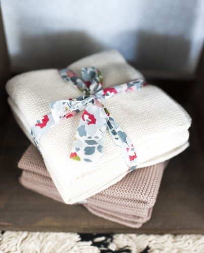 Artesanato Pernambuco ~ set mini toallas crema Deco& Living