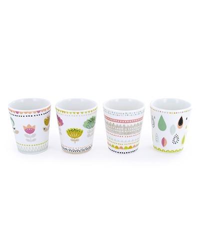Vaso taza de porcelana deco living for Tazas de porcelana
