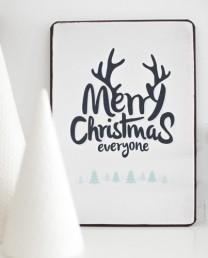 placa Christmas