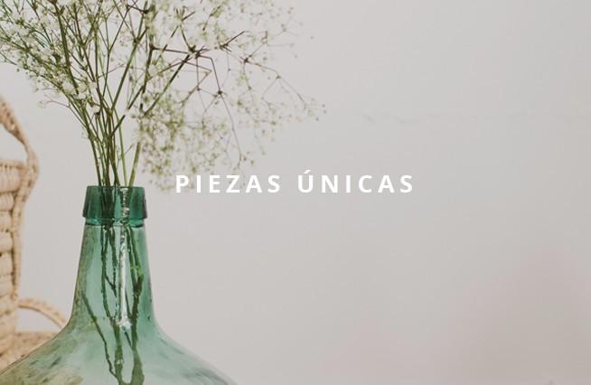 PIEZAS ÚNICAS