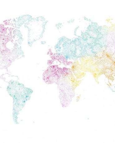Mural World Map 1