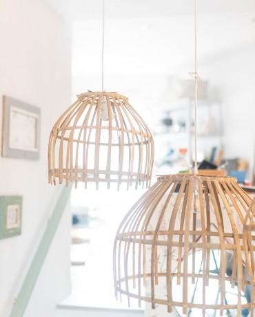 Lámpara Bambú Lisa S