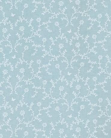 Hule Azul Floral