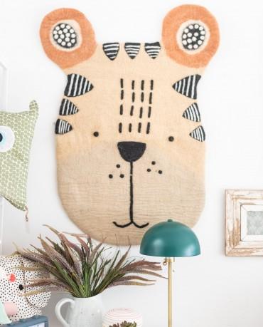 Alfombra tapiz oso