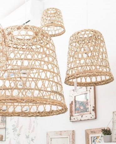 Lámpara Bambú M