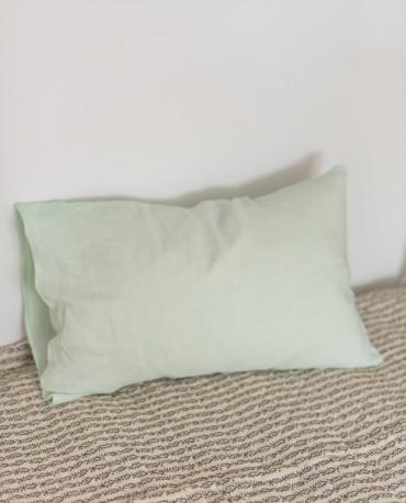 Funda Cojín lino manzana 40x60