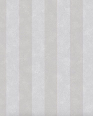 Papel pintado Chalk Stripe Gris Intenso
