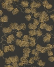 Papel pintado Pine Negro