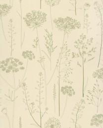 Papel pintado Carex Silver Gris