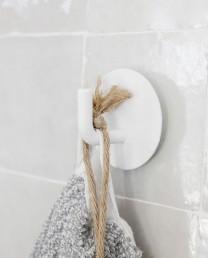Gancho toalla Blanco