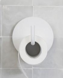 Soporte papel higiénico Blanco