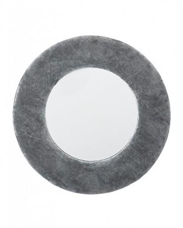 Espejo algodón gris
