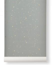 Papel Pintado Confeti Gris