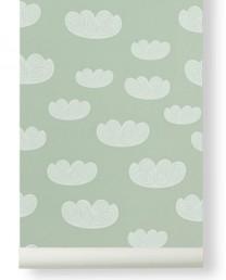 Papel Pintado Nube Mint