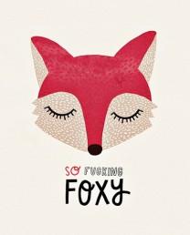 Póster Foxy 21x29