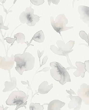 Papel Pintado Flor Acuarela 2