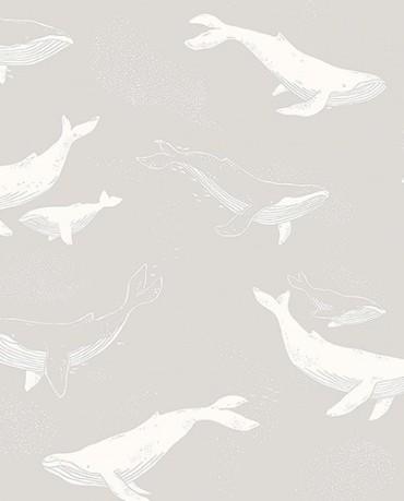 Papel Pintado Ballenas 1