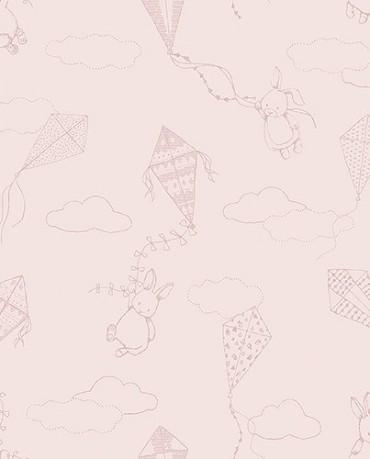 Papel Pintado Cometas 2