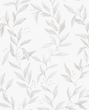 Papel Pintado hojas acuarela 1