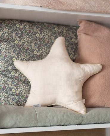 Cojín Estrella Rosa Nude