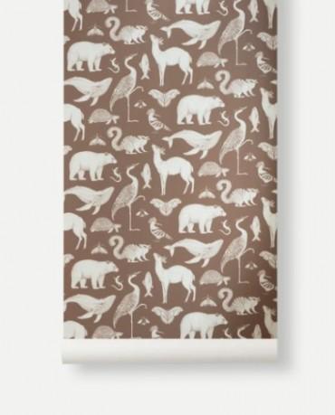 Papel Pintado Animales Toffee