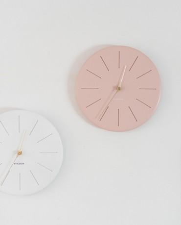 Reloj resina rosa