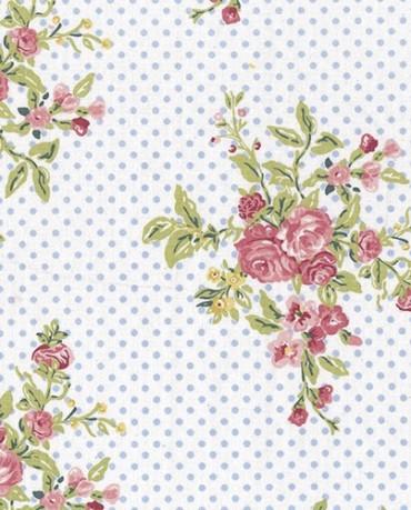 Hule Flores Rosas