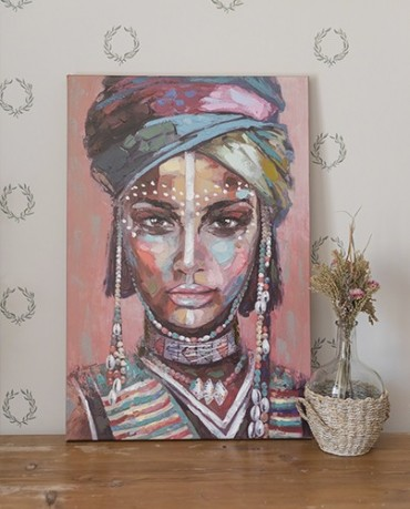Cuadro Mujer Africana 60x90
