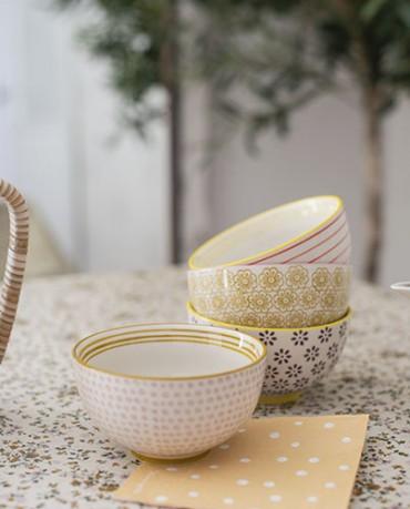 Pack cuencos cerámica ( 4 ud.) - Tarida