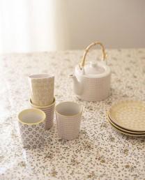 Set vasos cerámica (4 ud.) - Tarida