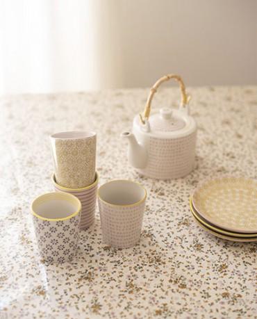 Pack vasos cerámica (4 ud.) - Tarida