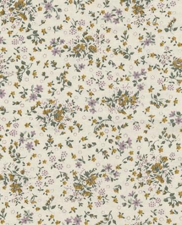 Hule Flores silvestres mostazas