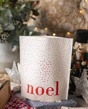 Bolsa Kraft plastificado Noel