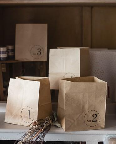 Pack 4 bolsas Kraft