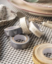 Pack 4 rollos washi tape